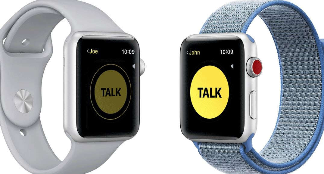 The Apple Watch Walkie-Talkie feature has been disabled for all users