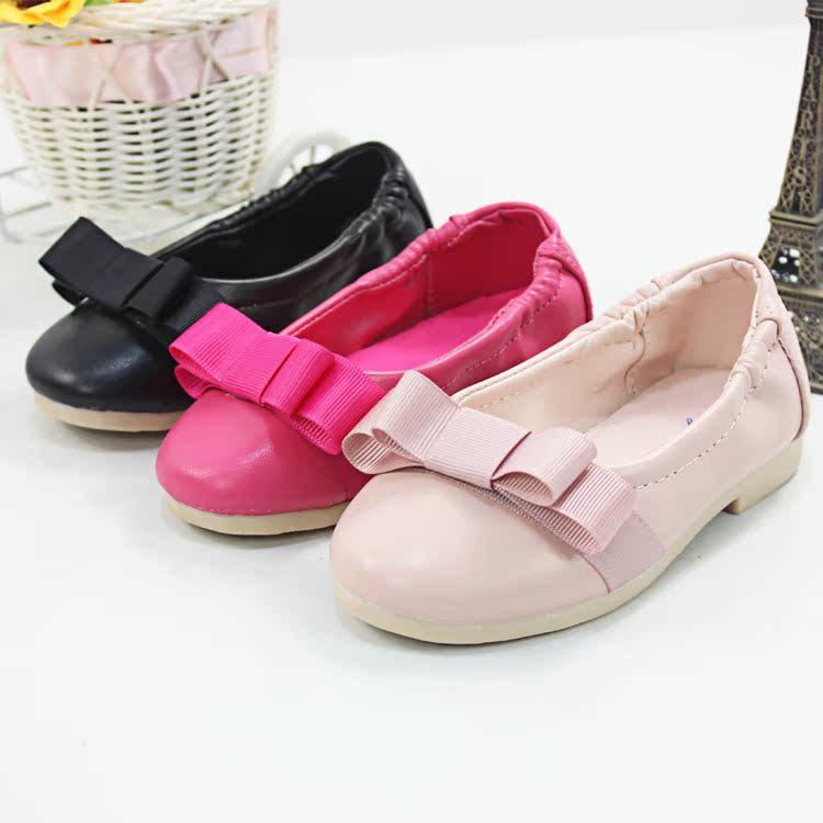Туфли с бантом для девочек