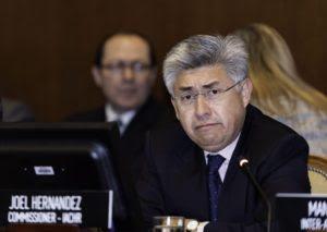 Joel Hernández Relator sobre Privados de Libertad de la OEA