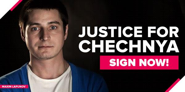 Giustizia per la Cecenia. REGISTRATI SUBITO