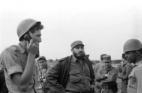 Fidel en la Crisis de Octubre. Foto: Ernesto Fernández