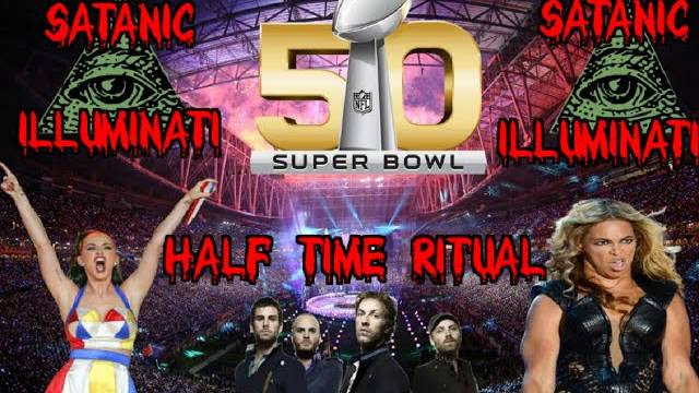 Super Bowl 50 Illuminati Satanic Half-Time Ritual Exposed (The Ritual Explained)