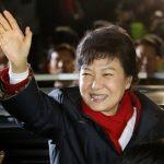 C'était le 10 décembre 2012 : Park Geun-hye était élue présidente de la Corée du Sud. (Crédits : AFP PHOTO/DONG-A ILBO)