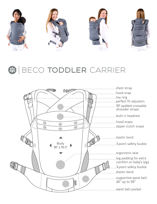 Beco Toddler Diagram