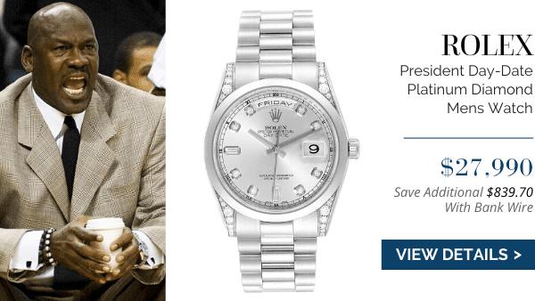 President Day-Date Platinum Diamond