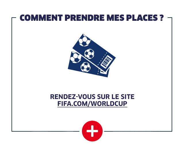 COMMENT PRENDRE MES PLACES ?