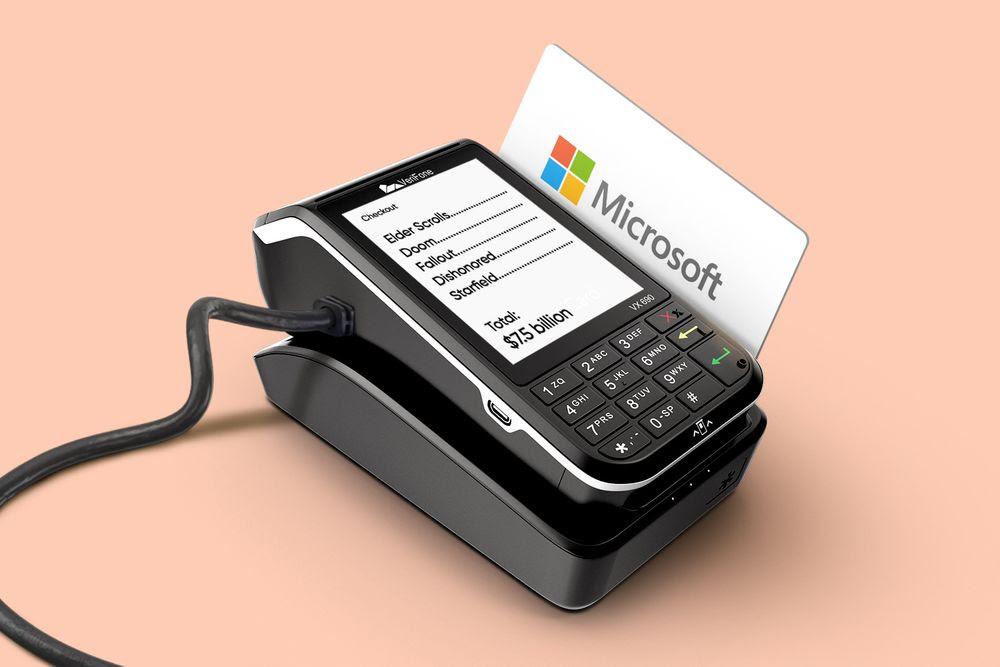 Microsoft swiping