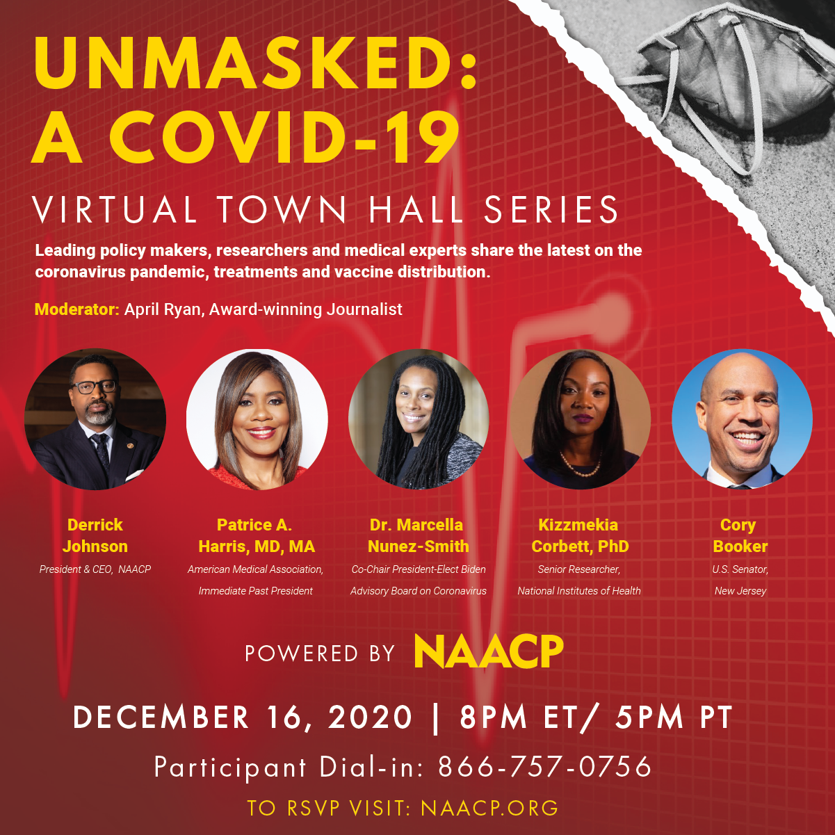 Unmasked Virtual Town Hall - COVID Vaccines