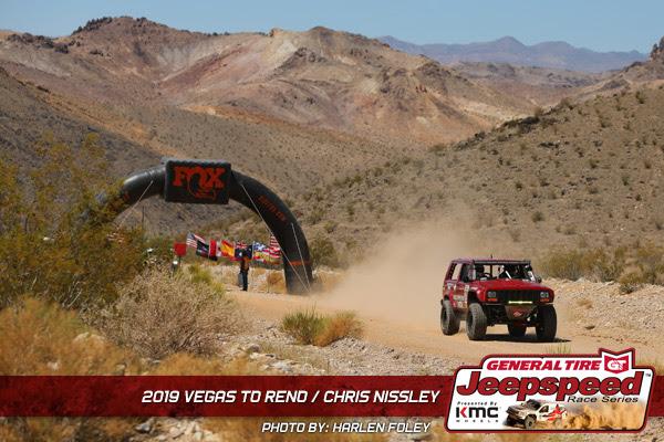 Jeepspeed, General Tire, Vegas To Reno, KMC Wheels