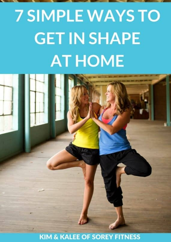 Kim & Kalee of Sorey Fitness Simple Ways to Get in Shape At Home