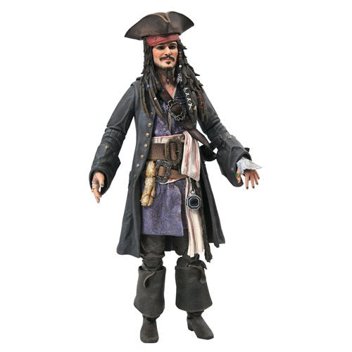 Image of Pirates of the Caribbean Jack Sparrow Action Figure - JANUARY 2021