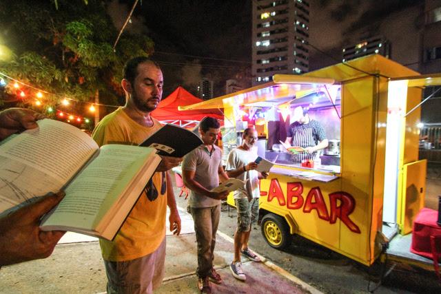 Foodtruck Malabar foi ponto de partida de criação do movimento Setubalize, na área de Setúbal, na Zona Sul. Crédito: Paulo Paiva/DP (Crédito: Paulo Paiva/DP)