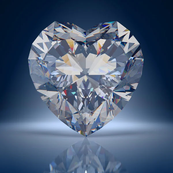 Diamond heart — Stock Photo #4726830
