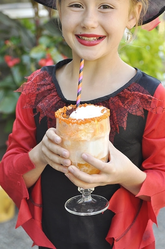 Spooky Ice Cream Sodas
