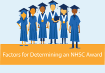 Factors for Determining an NHSC Award
