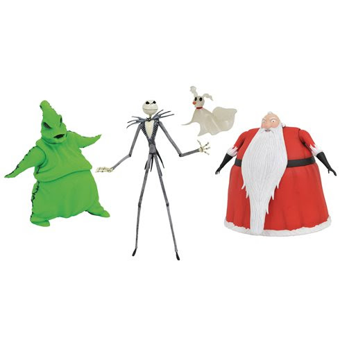 Image of Nightmare Before Christmas Lighted Action Figure Box Set - San Diego Comic-Con 2020 Previews Exclusive - AUGUST 2020