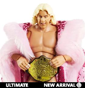 WWE Ultimate Edition Ric Flair Figure