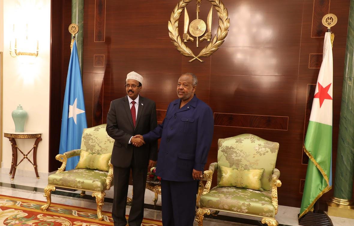 Madaxweynayaasha Somalia iyo Jabuuti oo kulmay-2