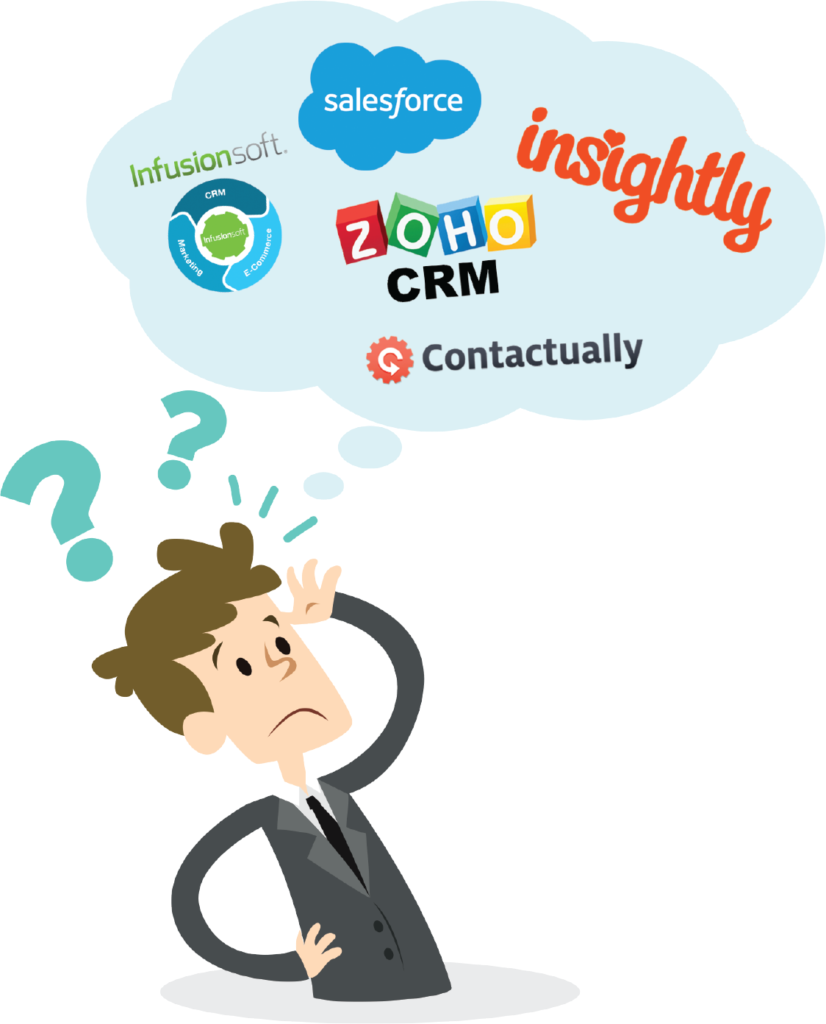 choose the right CRM for your small business