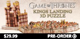 KINGS LANDING 3D PUZZLE