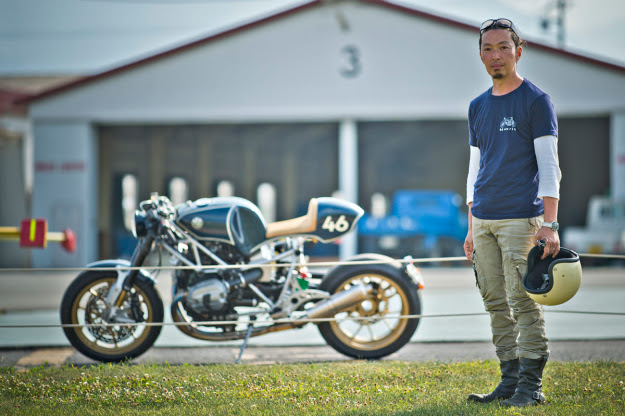 Custom motorcycle builder Shiro Nakajima of 46Works