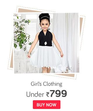 Girls Clothing | Frocks, Lehengas & More