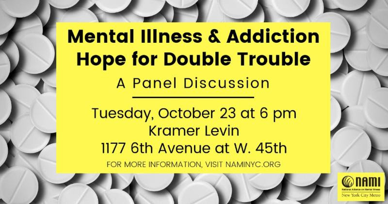 Mental Illness and Addiction - Hope for Double Trouble panel discussion