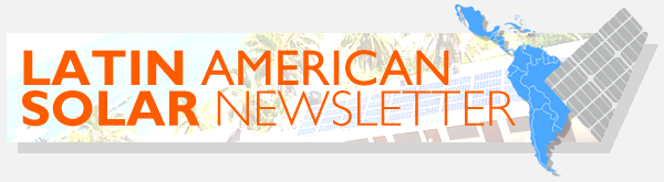Latin American Solar Newsletter (First Issue – May 2015)