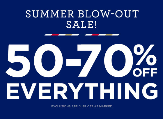 50-70% Off Everything Shop Now