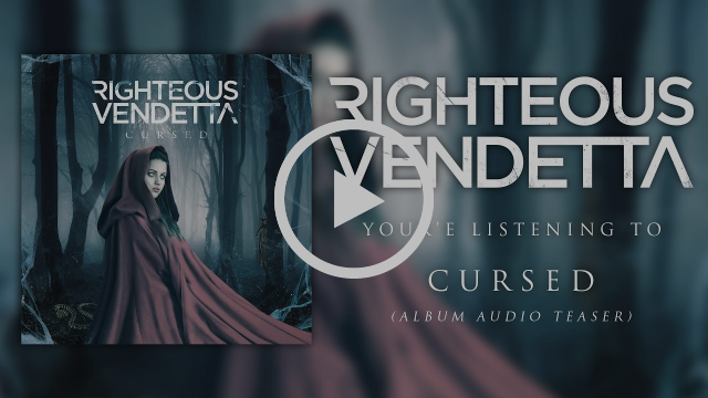 RIGHTEOUS VENDETTA - Cursed (Album Audio Teaser)