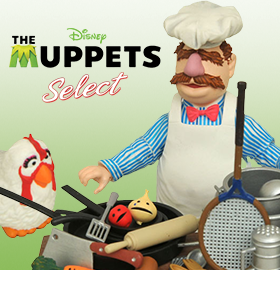 THE MUPPETS SELECT SWEDISH CHEF