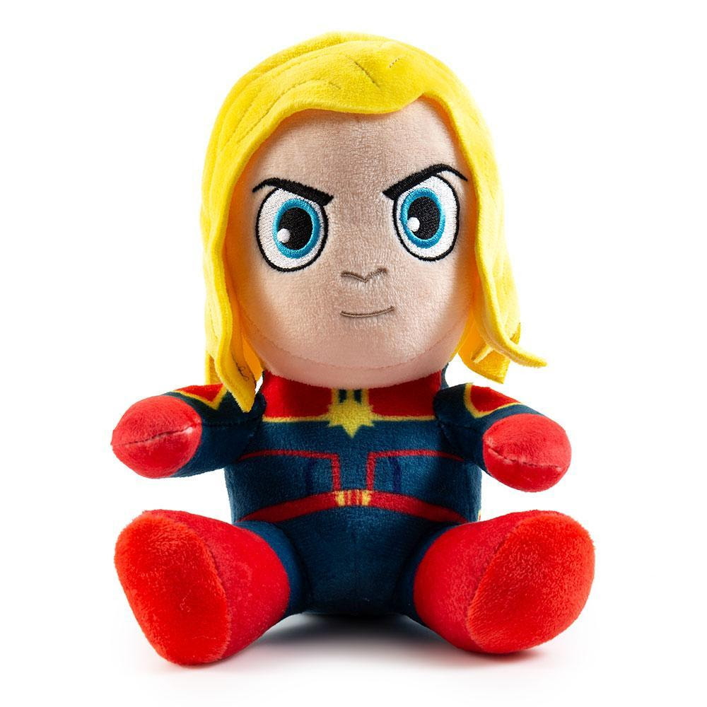 Captain Marvel Phunny Plush by Kidrobot