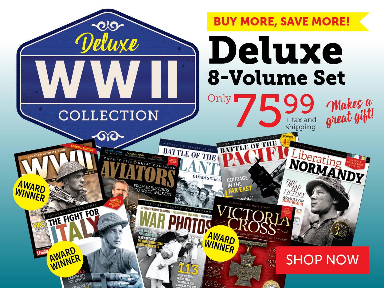World War II Collection Deluxe 8-Volume Set