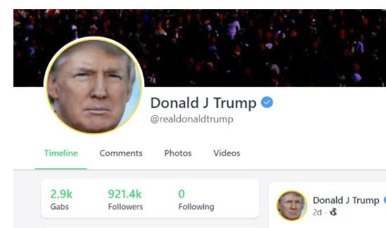 WOW! Gab CEO Defies Tech Tyrants – Restores ALL of President Trump's Tweets from Twitter  Trump-gab