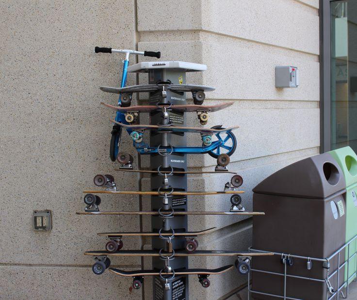 Resultado de imagen de skateboard  parking