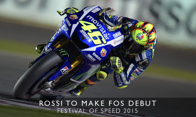 Rossi to make FoS debut
