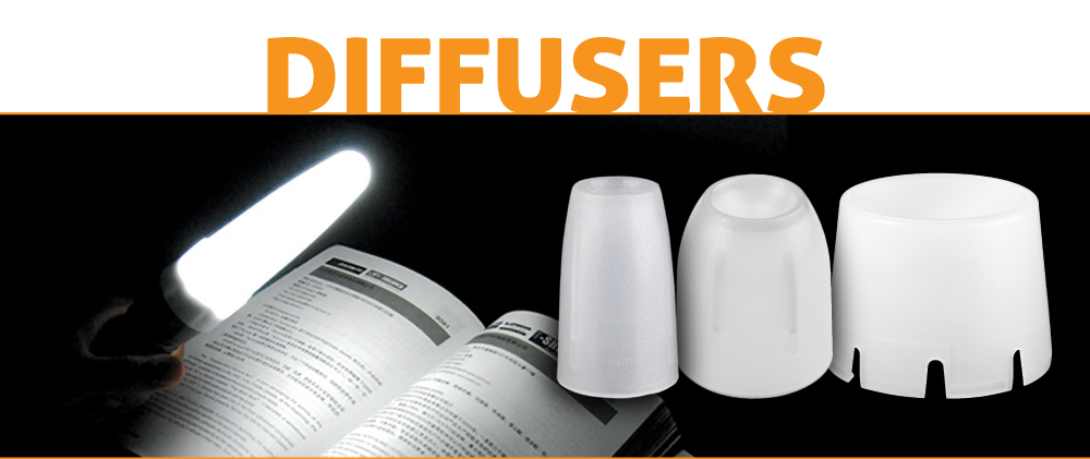Fenix Flashlight Diffusers