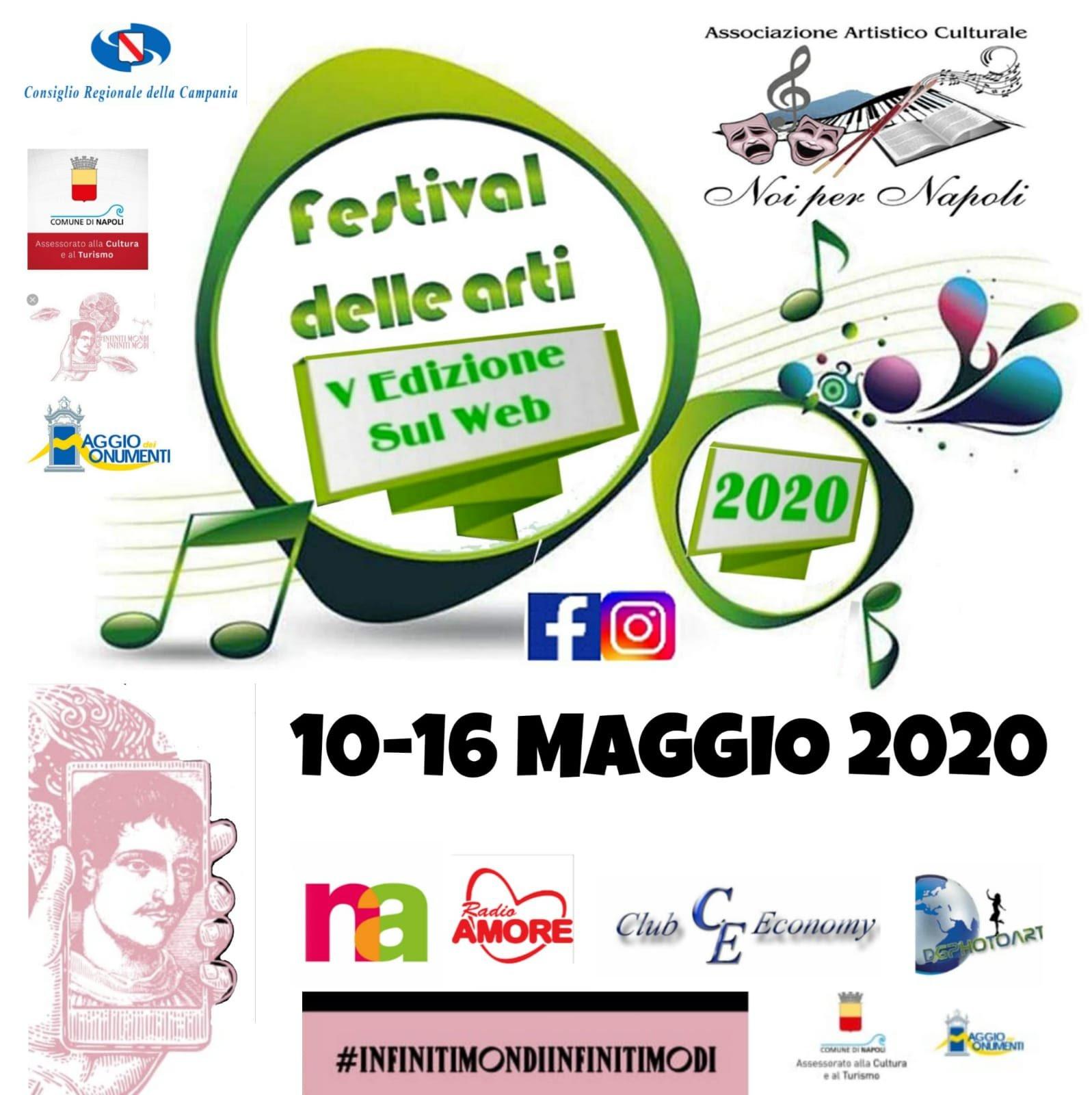 Festival delle Arti V Edizione sul Web Noi per Napoli