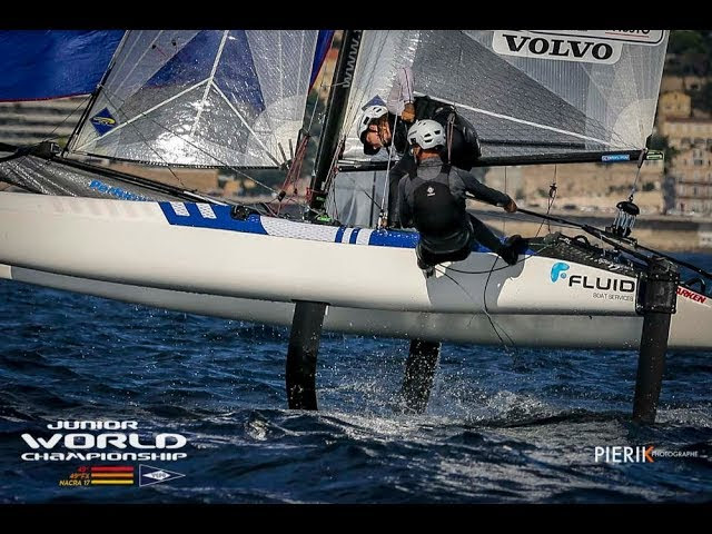 Nacra 17 Highlights - 2018 Junior World Championship