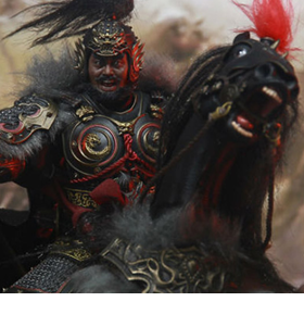 Soul Of Tiger Generals Zhang Yide & The Wuzhui Horse 1/12 Scale Figure Set