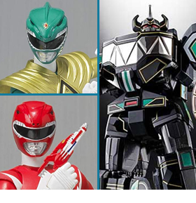MIGHTY MORPHIN POWER RANGERS EVENT EXCLUSIVES