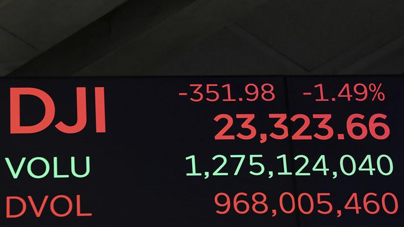 Wall Street en el peor día registrado en la víspera de Navidad
