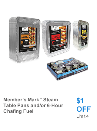 MM Steam Pans/Chafing fuel