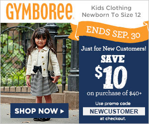 Sale for New Customers at Gymboree!