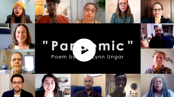 """Pandemic"" A Poem by Rev. Lynn Ungar"
