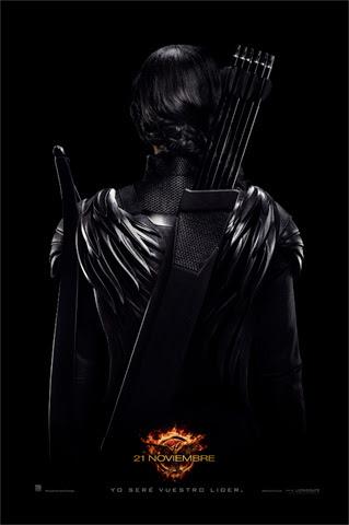 Cartel teaser de Katniss como Guerrera Rebelde del Distrito 13