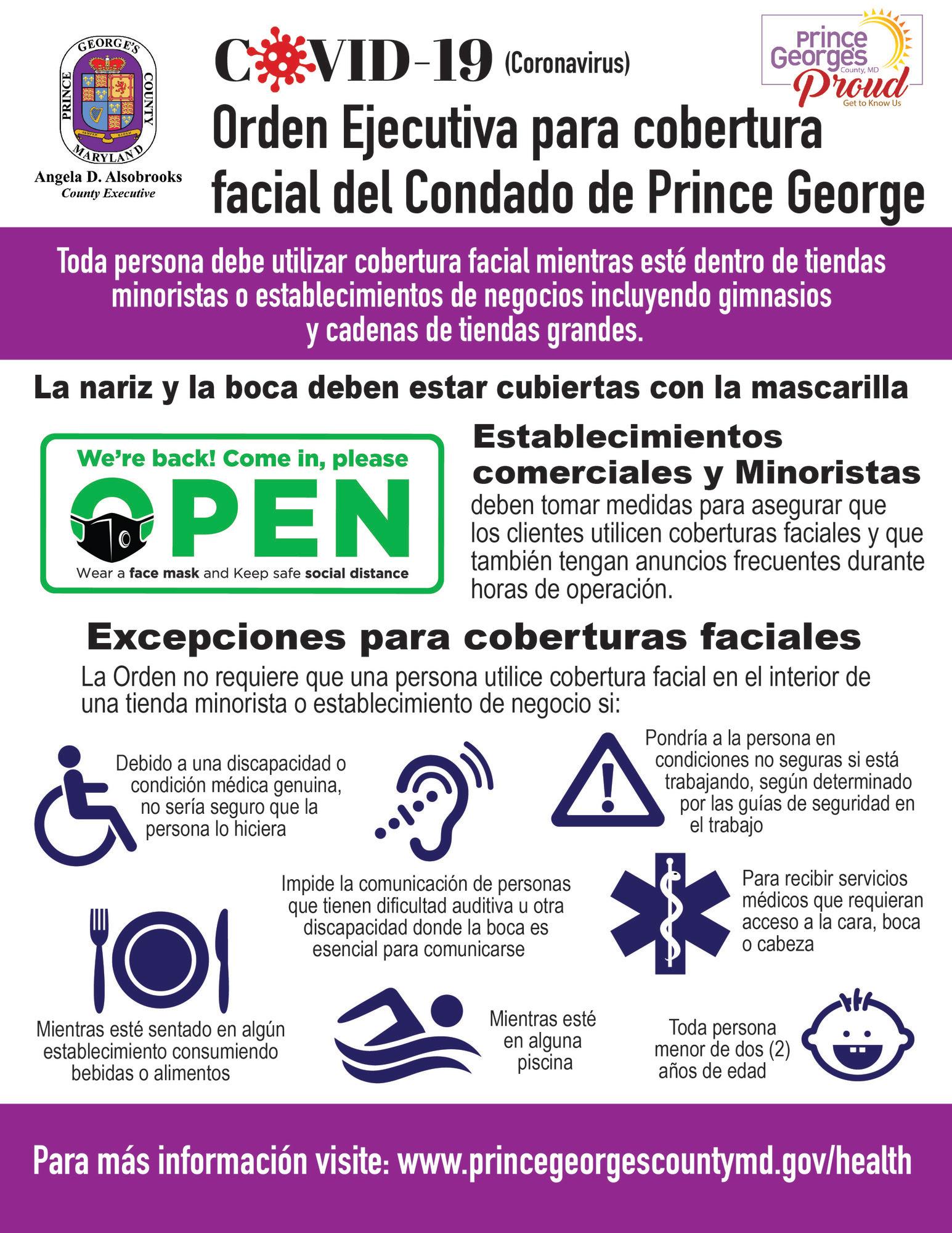 face masks spanish