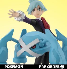 Pokemon Scale World Hoenn Region Steven & Metagross Two-Pack