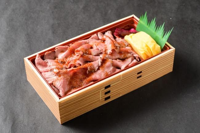 ローストビーフ重弁当:980円(+税)