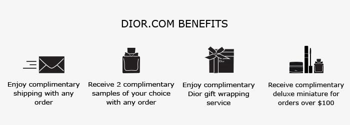 DIOR.COM BENEFITS